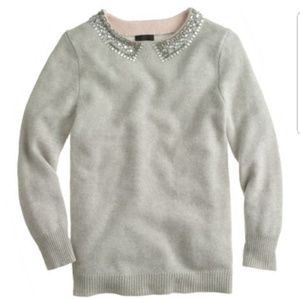 J. Crew cashmere Jewel sweater